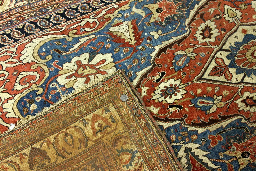 18th to 19th C. Persian Farahan Carpet - 5
