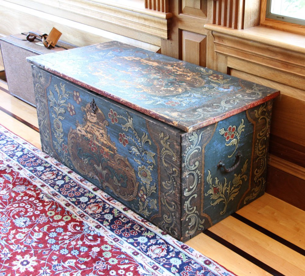 18th to 19th C. Continental Wooden Chest - 2