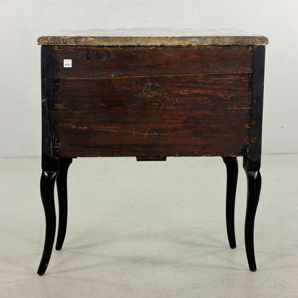 French Hand Painted Commode - 5