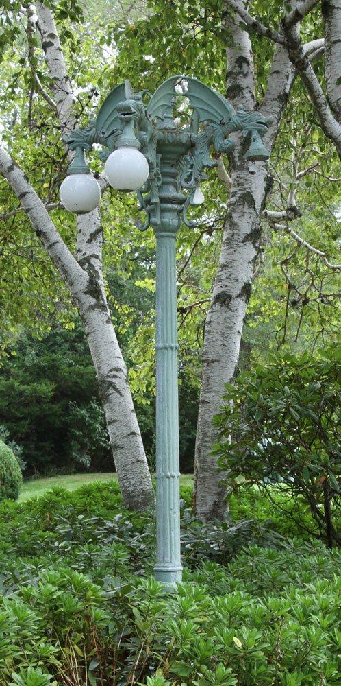 Semi Antique Pole Street Lamp