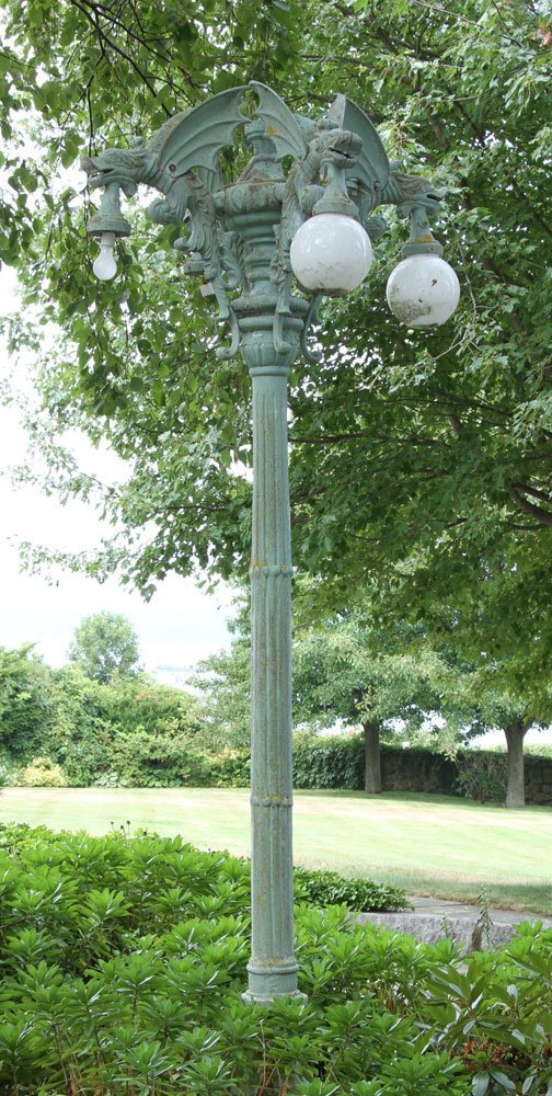 Semi Antique Pole Street Lamp - 3