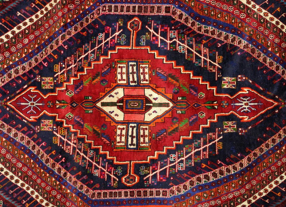 Semi Antique Qashqai Carpet - 2
