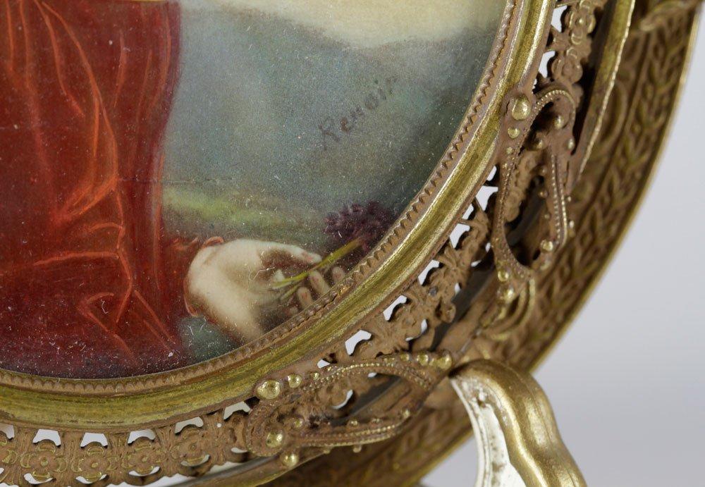19th C. Miniature Portrait of a Lady - 6