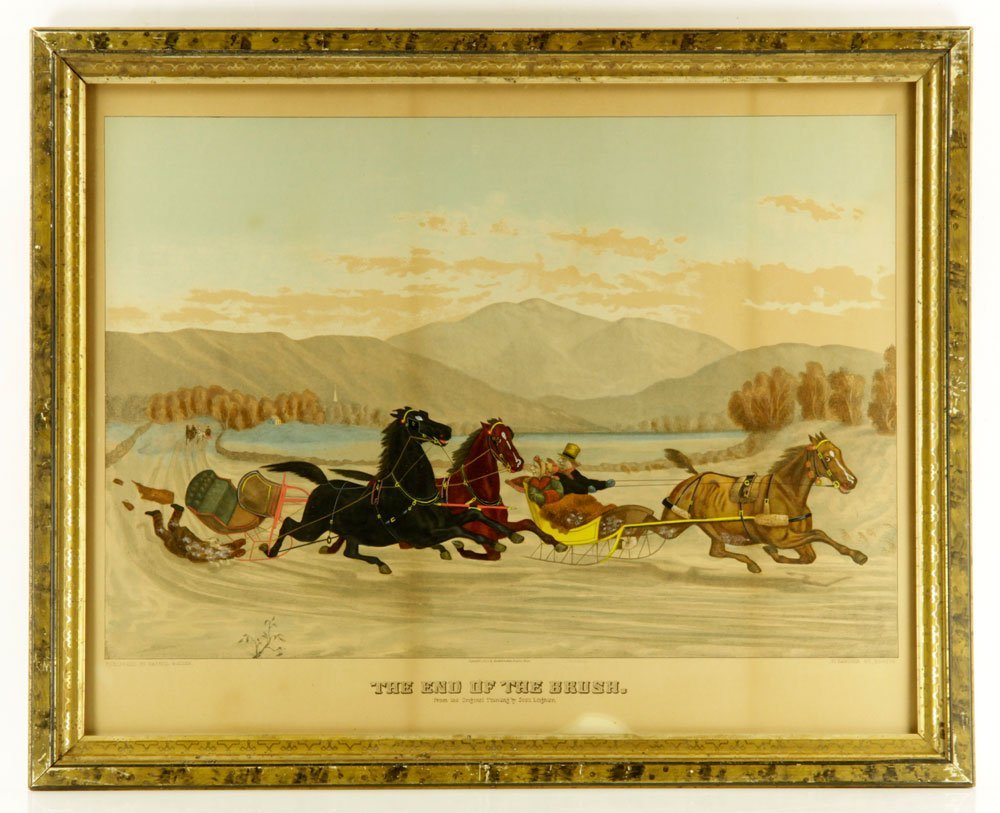 Pr. 19th C. Hand Colored Lithographs - 4