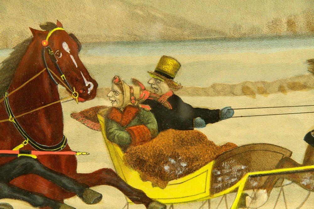 Pr. 19th C. Hand Colored Lithographs - 7