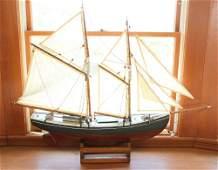 Antique Pond Boat Model