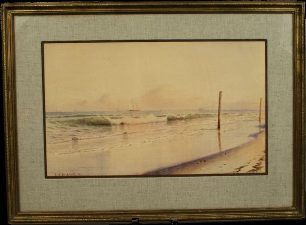 2: SIGNED EVELYN BICKNELL, GLOUCESTER, W/C, 1887