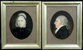 109: AFTER JAMES SHARPLES, (2) 18TH C. WATERCOLORS