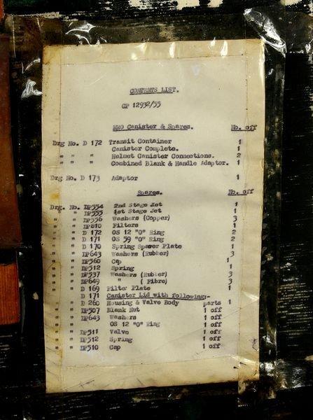 3053: RARE Heinke-Siebe Gorman Diving Helmet C. 1950 - 5