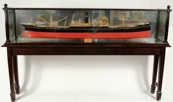 4012: Half Model Screw Steamer's Gogovale &Gretavale