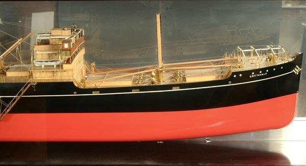 4012: Half Model Screw Steamer's Gogovale &Gretavale - 2