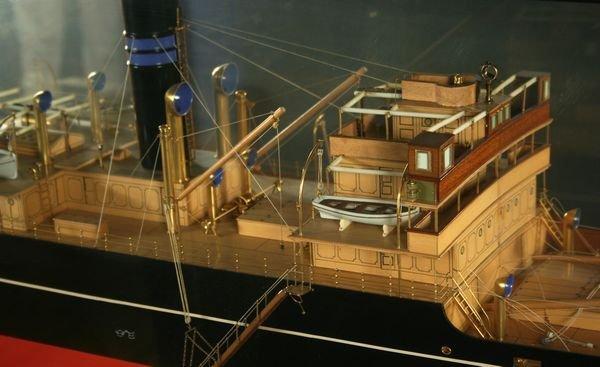 4012: Half Model Screw Steamer's Gogovale &Gretavale - 5