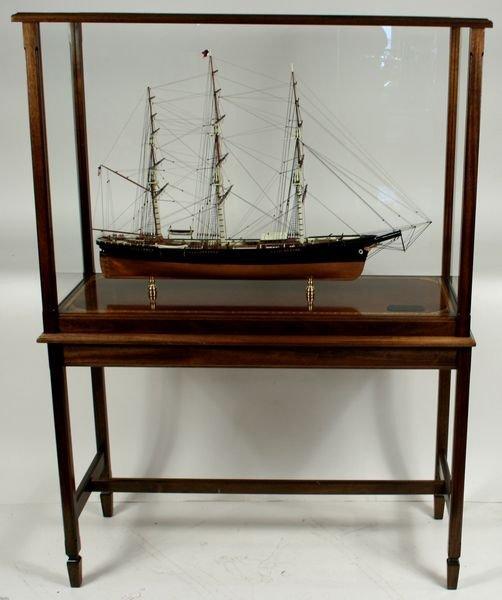 4018: 20th C.Model Boston Clipper Sovereign of the Seas