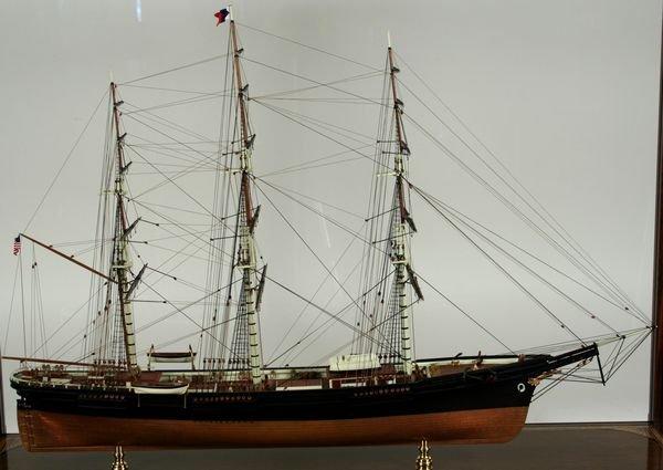 4018: 20th C.Model Boston Clipper Sovereign of the Seas - 2