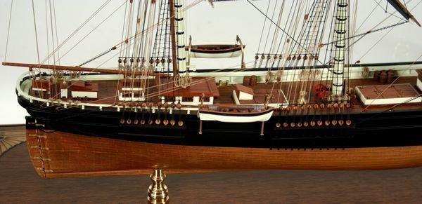 4018: 20th C.Model Boston Clipper Sovereign of the Seas - 5