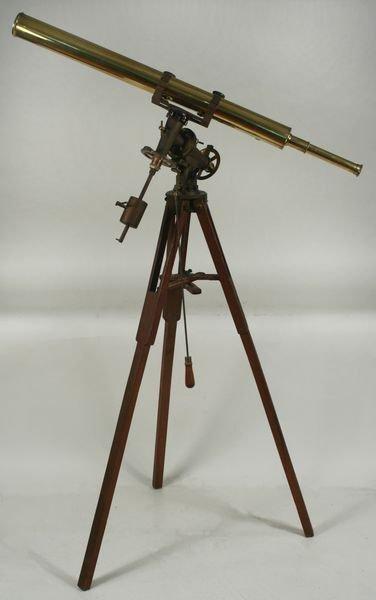 4019: Tripod Telescope w/ Mechanisms by Samuel Thaxter