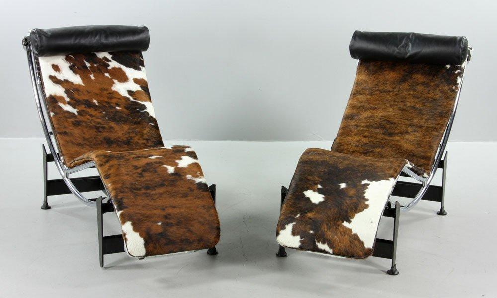 Two B & B Italia Lounge Chairs