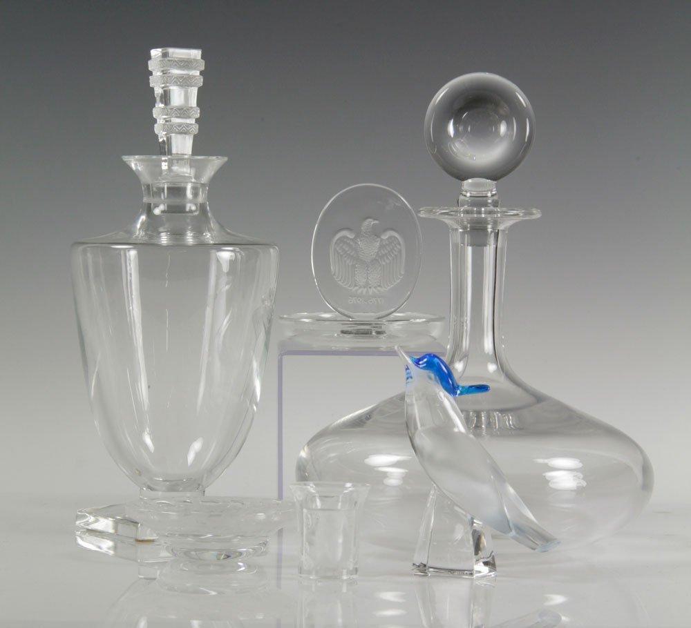 6 Pieces of Lalique Crystal