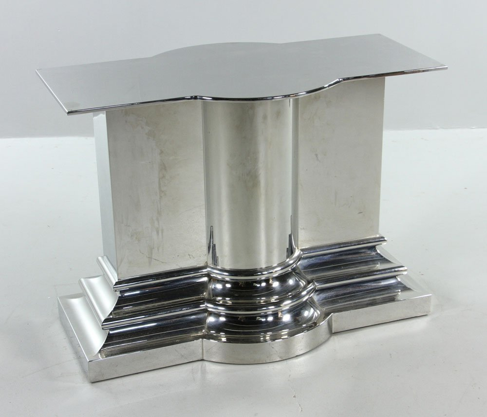 Modern Stainless Steel Dining Table - 6
