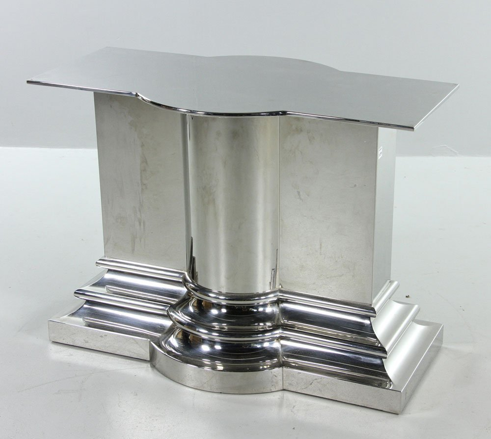 Modern Stainless Steel Dining Table - 7