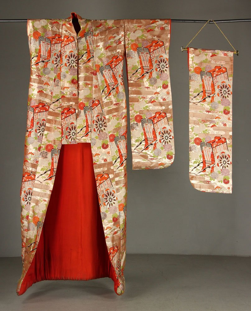 Japanese Silk Kimono Owned by Liberace