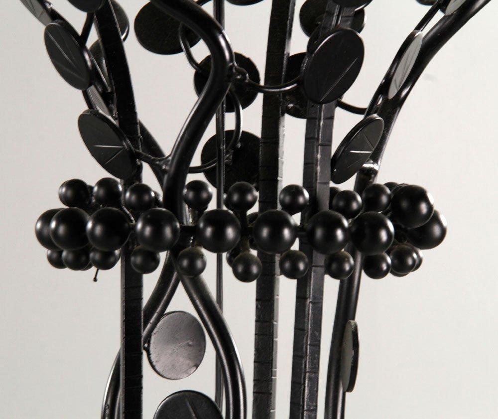 Pr. Art Deco Style Wrought Iron Floor Lamps - 3