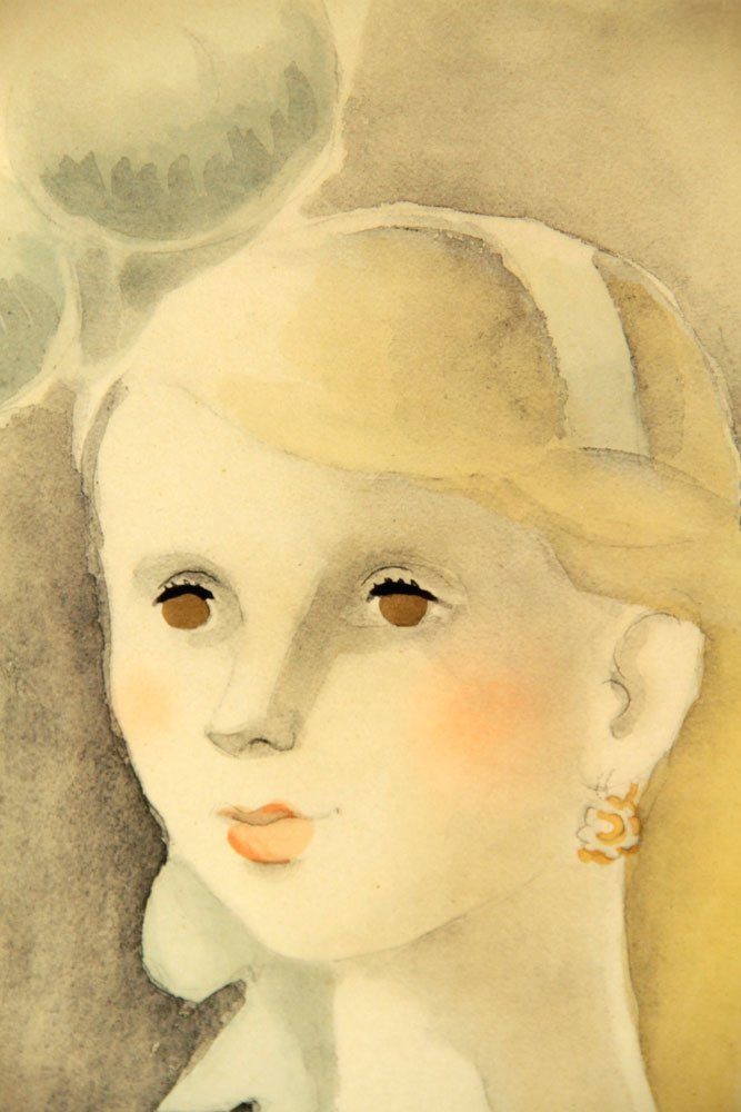 Luka, Portrait of a Girl with Long Neck, Print - 3