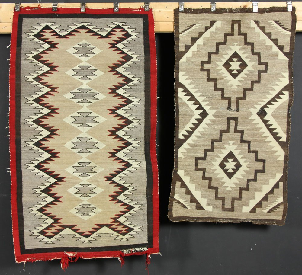 Two Navajo Carpets