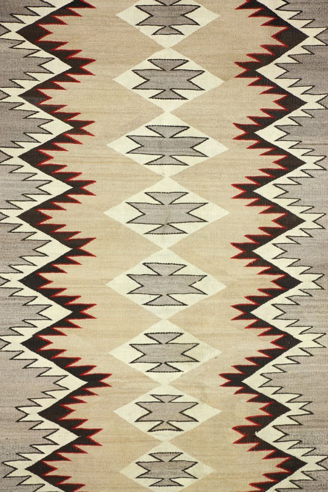 Two Navajo Carpets - 2
