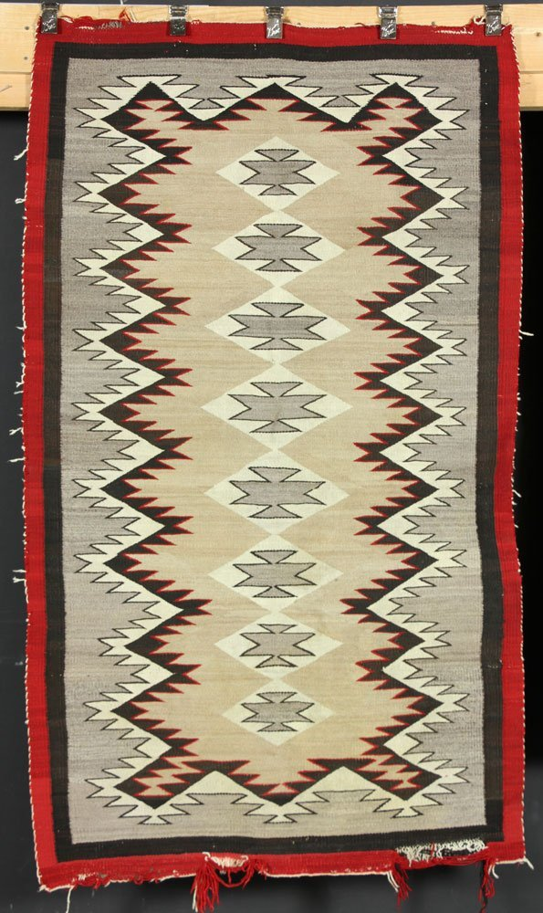Two Navajo Carpets - 6