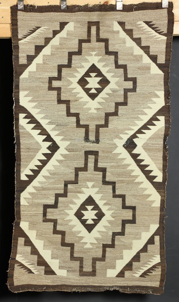 Two Navajo Carpets - 7