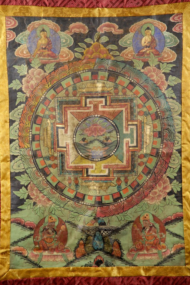 Two Antique Thangkas - 10