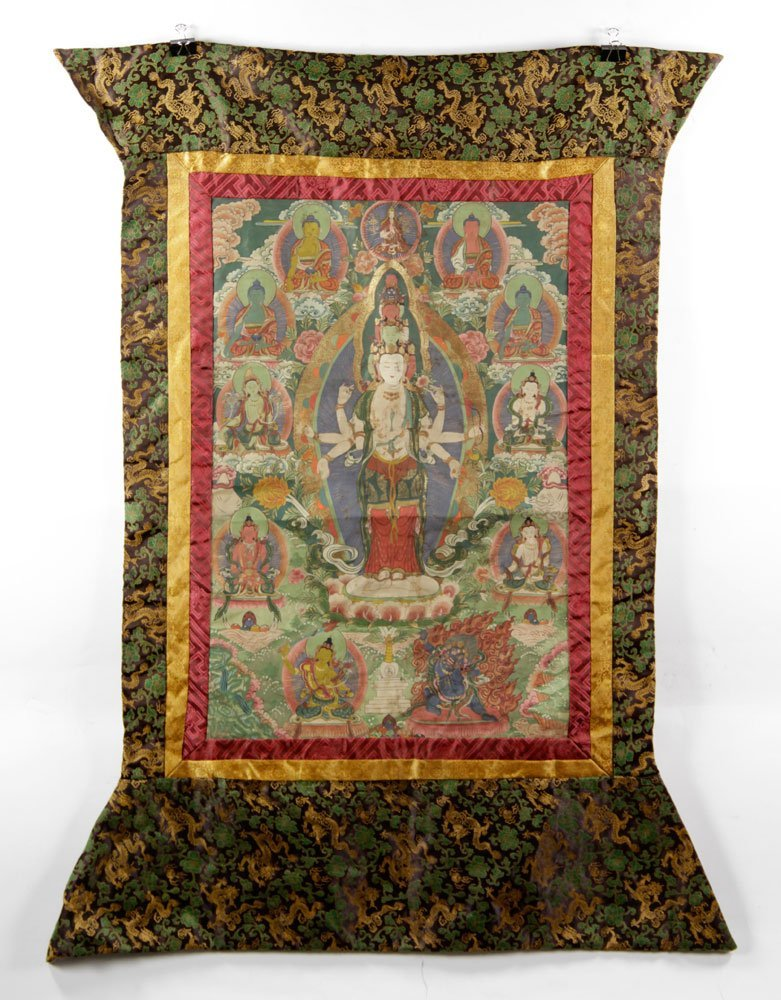 Two Antique Thangkas - 2