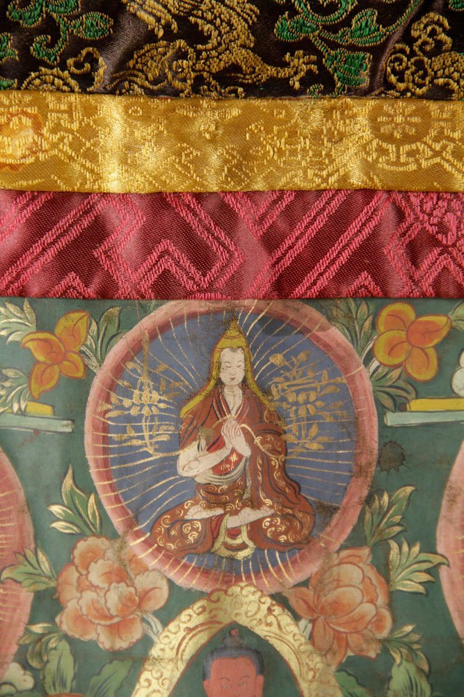 Two Antique Thangkas - 5