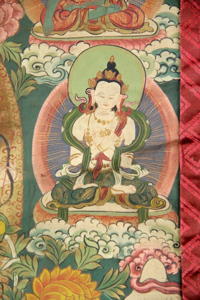 Two Antique Thangkas - 6