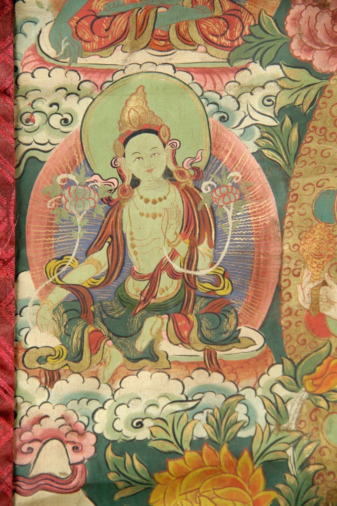 Two Antique Thangkas - 7