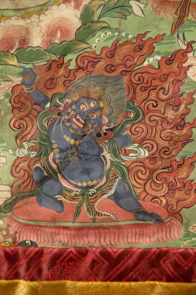 Two Antique Thangkas - 8