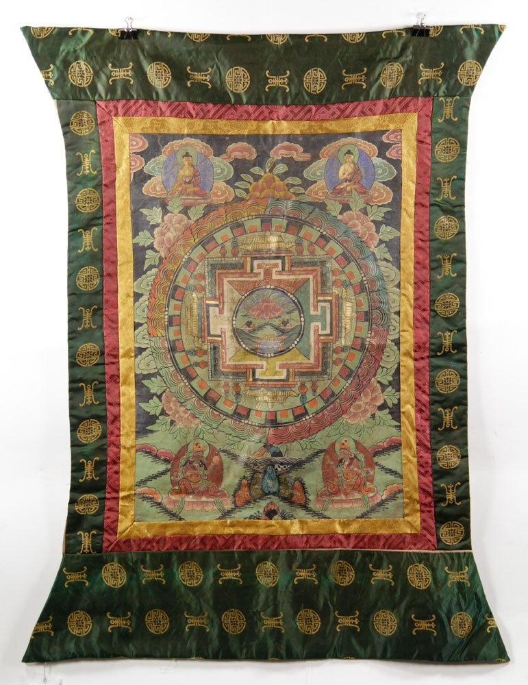 Two Antique Thangkas - 9