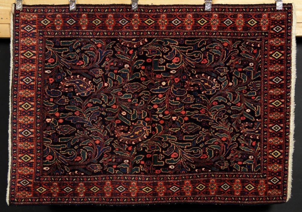 Antique Persian Senneh Carpet