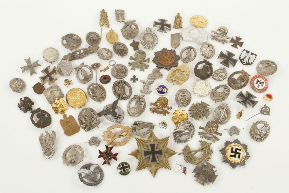 Lot of Replica Nazi Medals