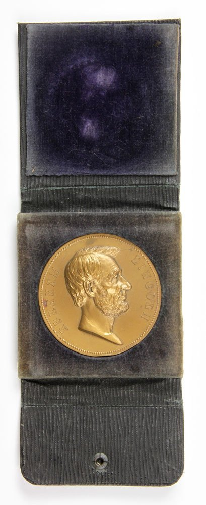 Commemorative Abraham Lincoln Inauguration Medal