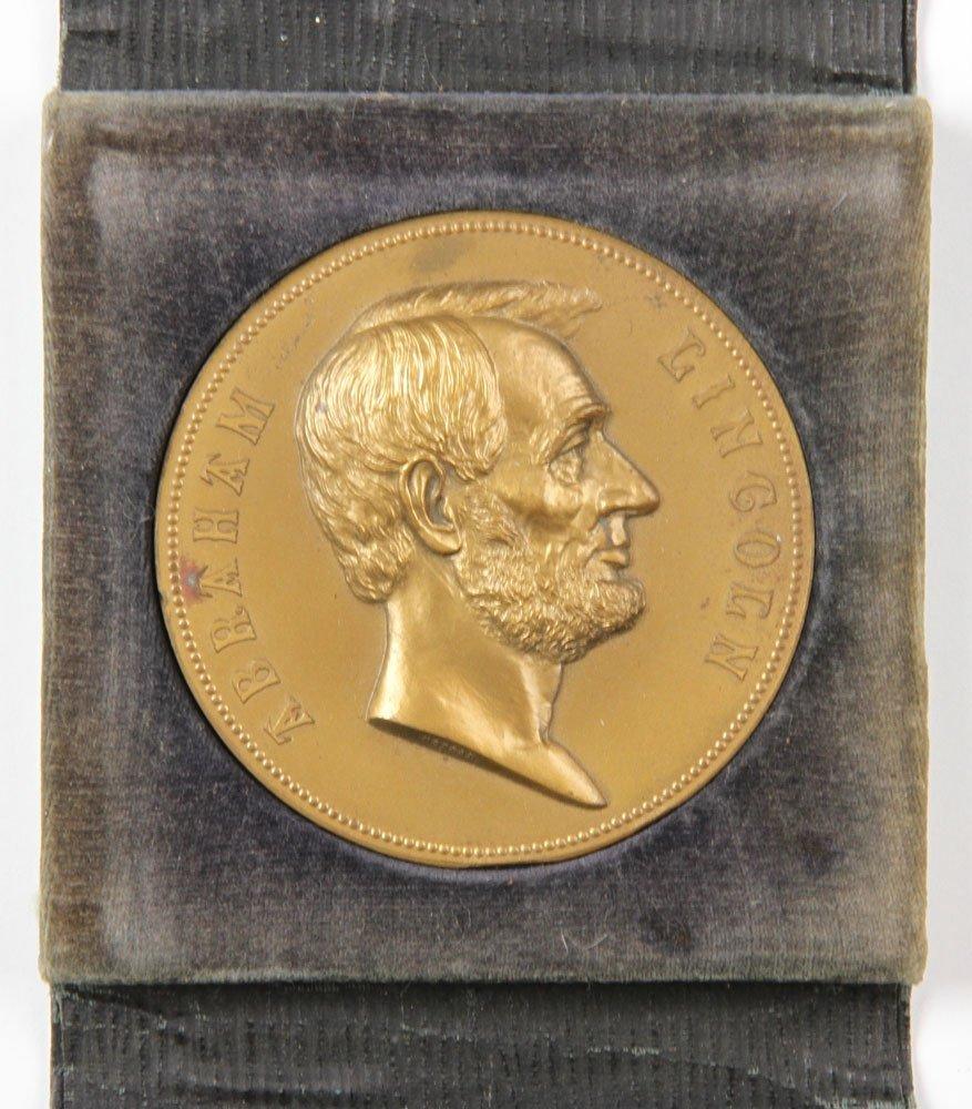 Commemorative Abraham Lincoln Inauguration Medal - 2