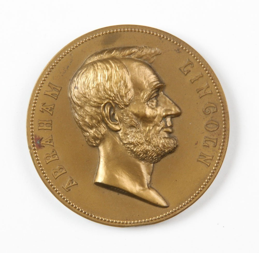 Commemorative Abraham Lincoln Inauguration Medal - 6