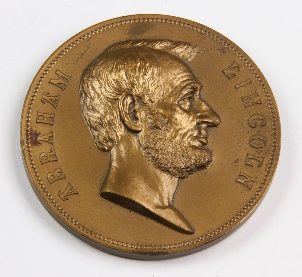Commemorative Abraham Lincoln Inauguration Medal - 8