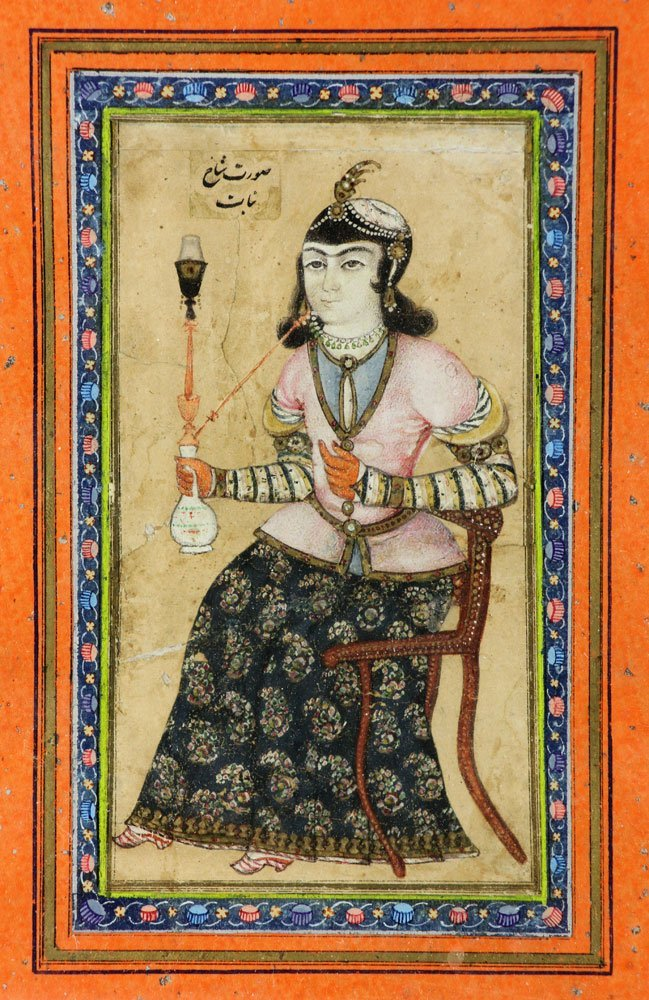 Pr. 18th C. Middle-Eastern Watercolor Paintings - 4