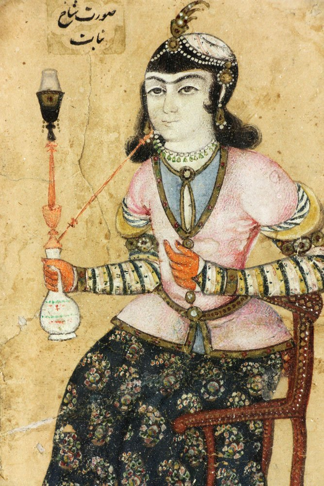 Pr. 18th C. Middle-Eastern Watercolor Paintings - 5