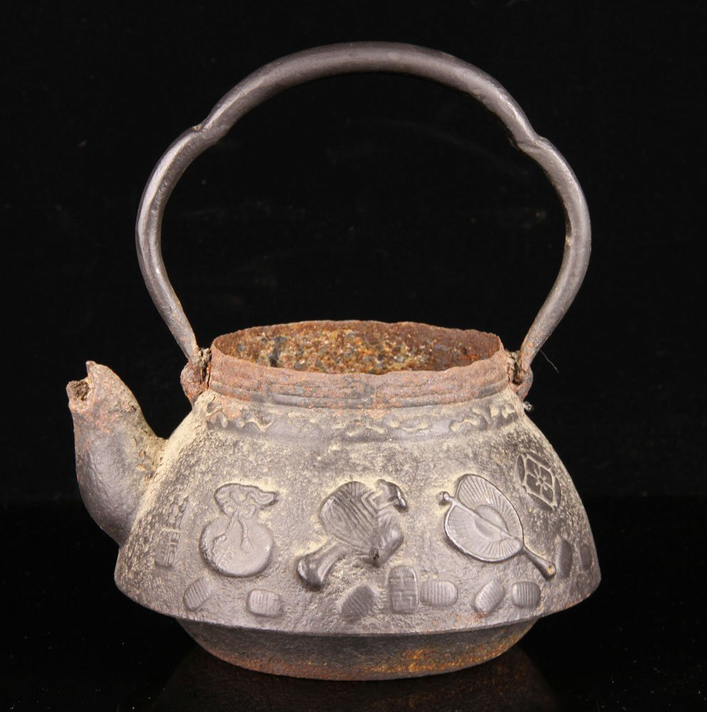 Chinese Iron Teapot - 4
