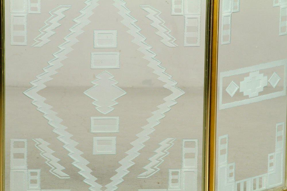 Art Deco Folding Fire Screen - 2