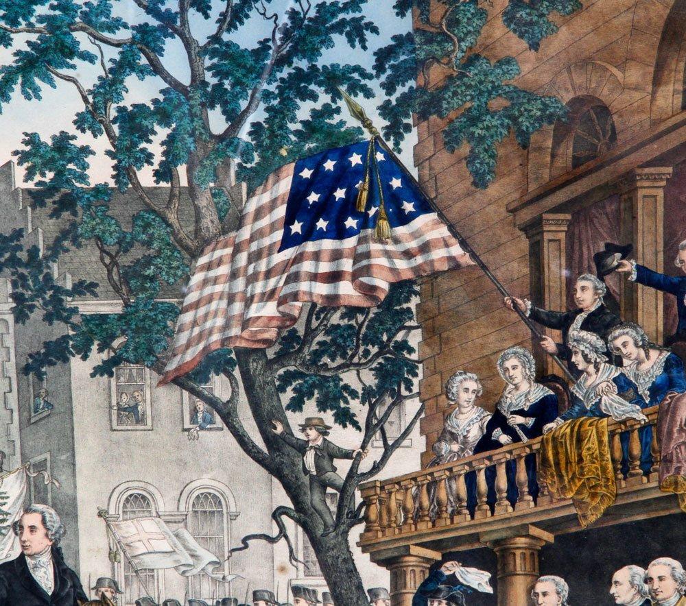 Washington in New York, Print - 3