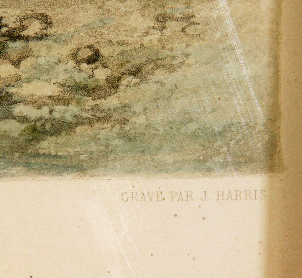 """19th C. """"Le Passage Du Gue,"""" Print - 4"""